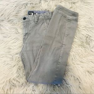 Zoo York boys grey jeans size 12 straight leg.